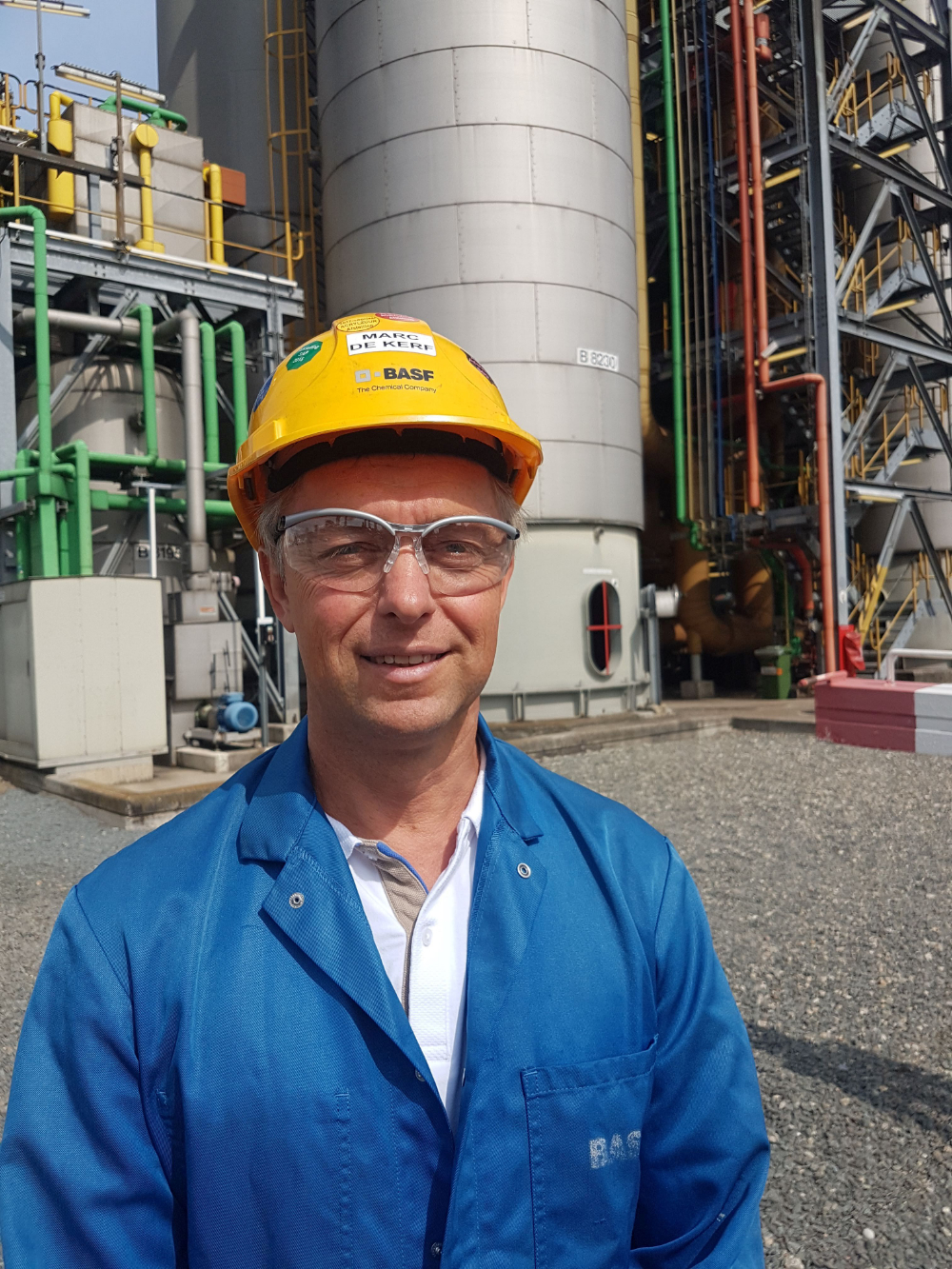 Marc De Kerf, maintenance manager bij BASF